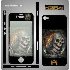 Skin IPhone 4/4S Skull 3