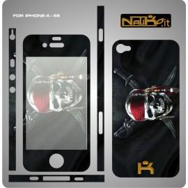 Skin IPhone 4/4S Skull 2