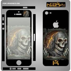 Skin IPhone 5/5S Skull 3