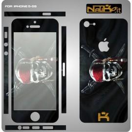Skin IPhone 5/5S Skull 2