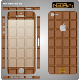 Skin IPhone 5/5S Cioccolato
