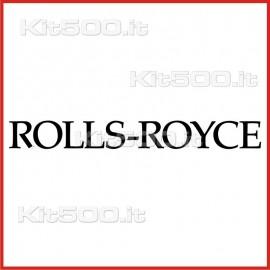Stickers Adesivo Rolls-Royce