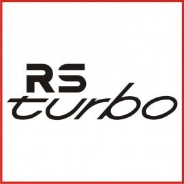 Stickers Adesivo Rs Turbo