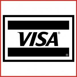 Stickers Adesivo Visa