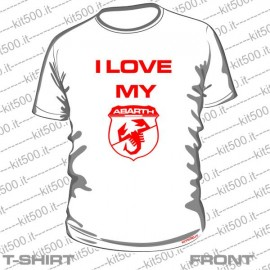 T-shirt I LOVE MY ABARTH