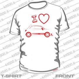 T-shirt I LOVE ABARTH