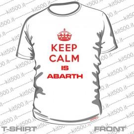T-shirt KEEP CALM IS ABARTH