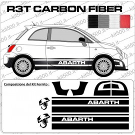 Fascia Laterale Alta Rally R3T per 500 E Abarth
