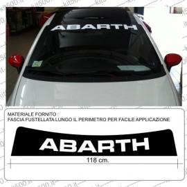 Fascia Parasole Stampata ABARTH