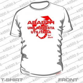 T-shirt ABARTH UNA MODESTA UTILITARIA