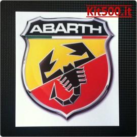 Scudetto Adesivo ABARTH