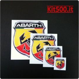 Set Scudetto Adesivo ABARTH