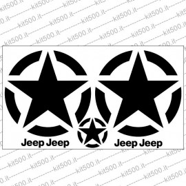 Kit Adesivo per Jeep Renegade