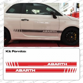 Kit Fascia Laterale Bassa 2016 per 500 e 500 ABARTH