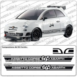 Kit 695 per Fiat 500 e 500 Abarth