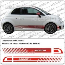 Kit Fascia Alta  per Fiat 500 e 500 Abarth