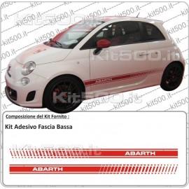 Kit Fascia Bassa per Fiat 500 e 500 Abarth