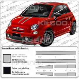 Kit Scuderia per Fiat 500 e 500 Abarth