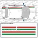 Fascia Stampata Flag Italia per Fiat 500 e 500 Abarth