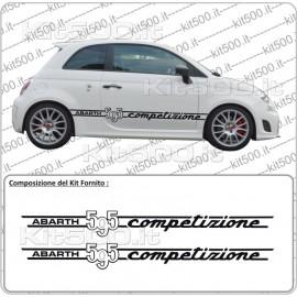 Fascia Laterale Bassa 595 per Fiat 500 e 500 Abarth