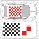 Tetto a Scacchi 14 per Fiat 500 e ABARTH
