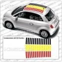 Tetto a Barre 3 colori GER per Fiat 500 e ABARTH