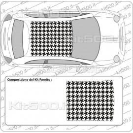 Tetto Prespaziato PiedPool per Fiat 500 e 500 Abarth
