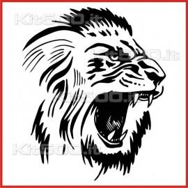 Stickers Adesivo Leone
