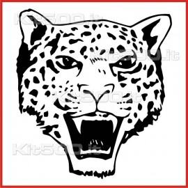 Stickers Adesivo Leopardo