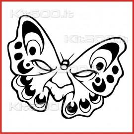 Stickers Adesivo Farfalla 001
