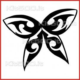 Stickers Adesivo Farfalla 003