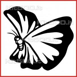 Stickers Adesivo Farfalla 004