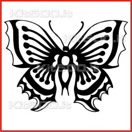 Stickers Adesivo Farfalla 005