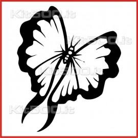 Stickers Adesivo Farfalla 007