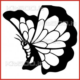 Stickers Adesivo Farfalla 104
