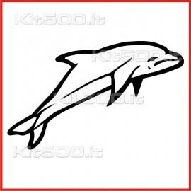 Stickers Adesivo Delfino Salto 001