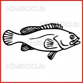 Stickers Adesivo Pesce