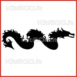 Stickers Adesivo Serpente Drago