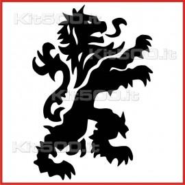Stickers Adesivo Drago Leone