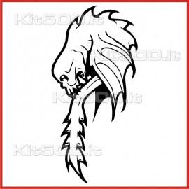 Stickers Adesivo Drago 023