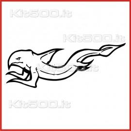 Stickers Adesivo Creatura Infernale 025
