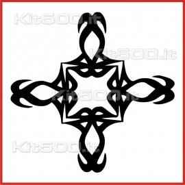 Stickers Adesivo Croce Preziosa