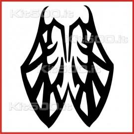 Stickers Adesivo Farfalla Chiusa