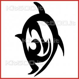 Stickers Adesivo Tuffo nel Mare
