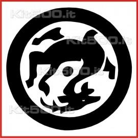 Stickers Adesivo Mondo Rovescio