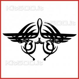 Stickers Adesivo Volo nelle Tenebre