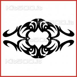 Stickers Adesivo Rosa dello Spazio