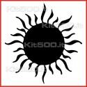 Stickers Adesivo Sole Pieno