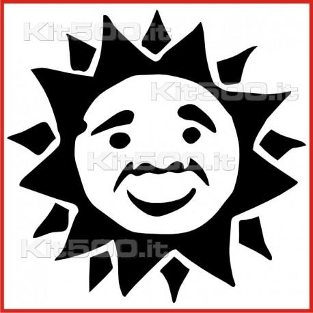 Stickers Adesivo Sole Sereno