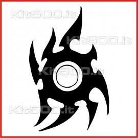 Stickers Adesivo Sole Tribale